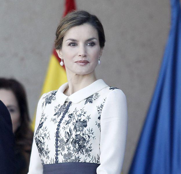Letizia Ortiz impressionne la police à Avila ce mardi 10 novembre
