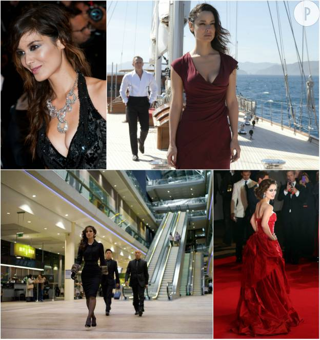 "Bérénice Marlohe en 2012 dans ""Skyfall"" de Sam Mendes."