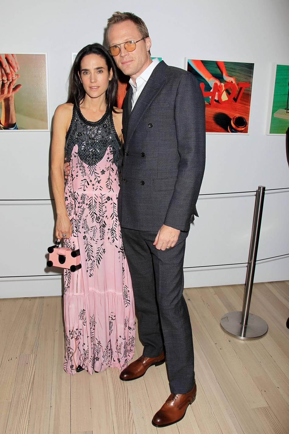 Jennifer Connelly et son mari, l'acteur et jeune réalisateur Paul Bettany.