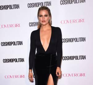 Khloe Kardashian : sexy et moulée à bloc dans une robe ultra courte