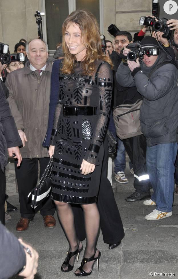 Laura Smet au défilé Haute Couture Chanel printemps-été 2009.
