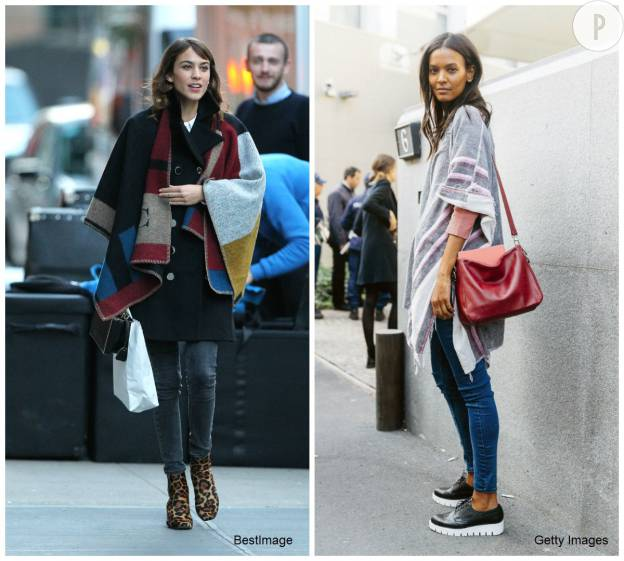 A gauche, Alexa Chung. A droite, Liya Kebede.