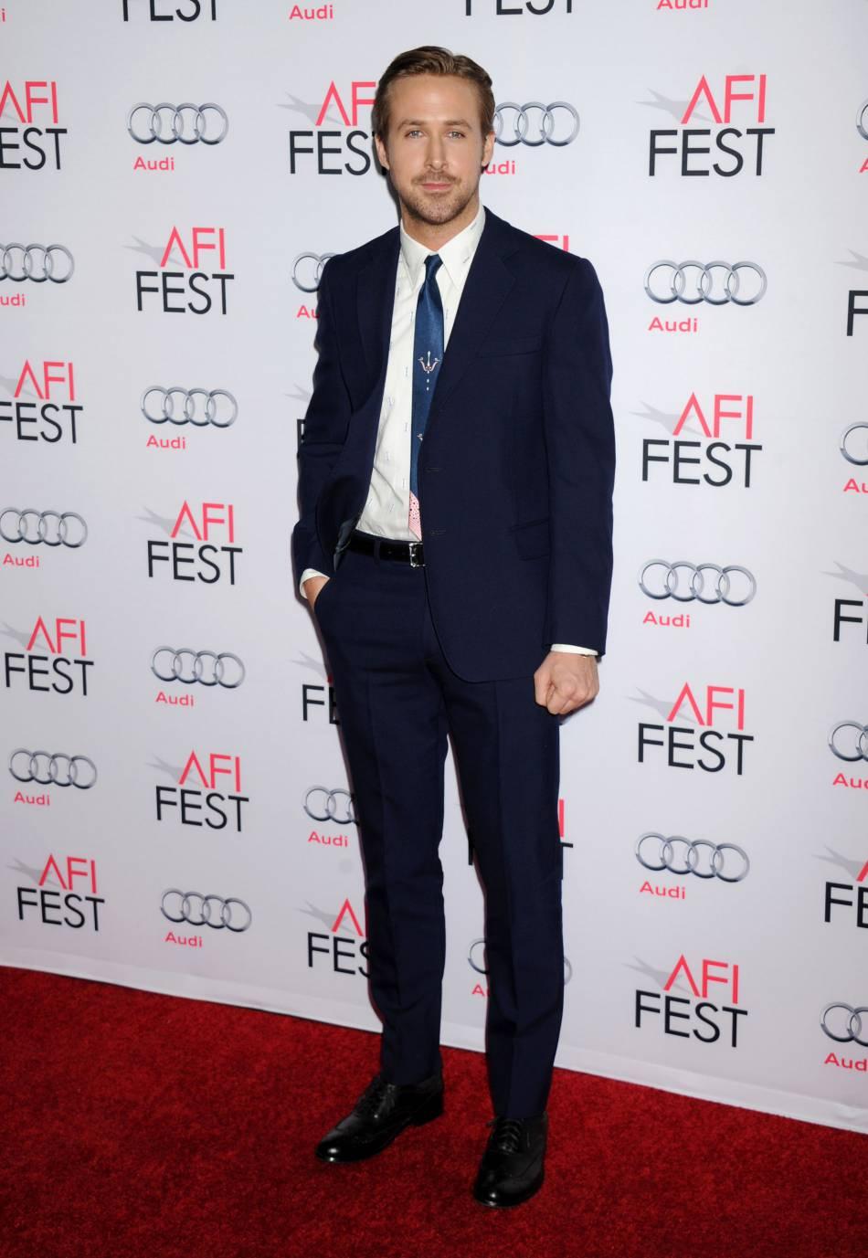 Ryan Gosling, à Los Angeles ce jeudi 12 novembre 2015.