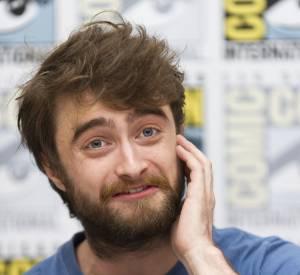 Daniel Radcliffe en juillet dernier : il a changé de look de manière radicale !