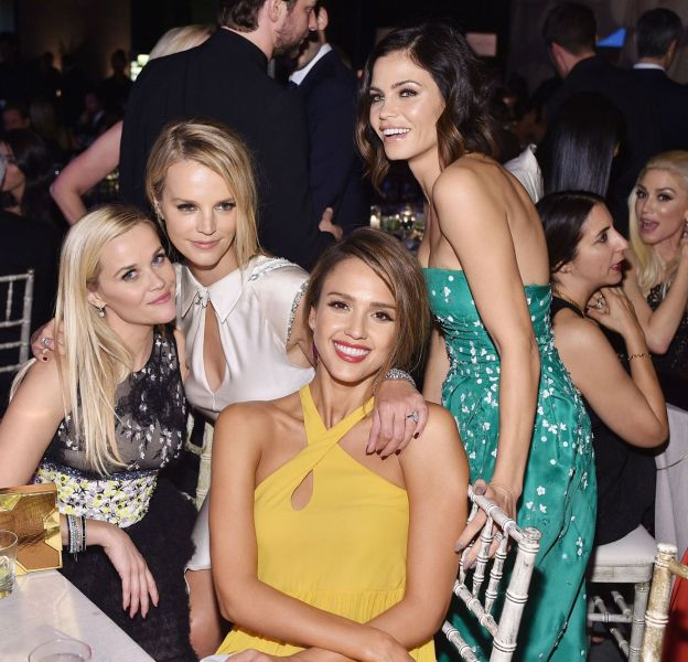 Reese Witherspoon, Kelly Sawyer Patricof, Jessica Alba et Jenna Dewan-Tatum augala Baby2Baby à Los Angeles le 14 novembre 2015.