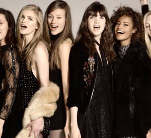 "Campagne ""Holiday 2015"" de Topshop avec Bella Hadid, Ella Richards, Malaika Firth, Grace Hartzel, Imaan Hammam, Marga Esquivel, Aneta Pajak et Sophia Ahrens."