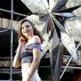 Miranda Kerr dévoile un side boob discret à New York.