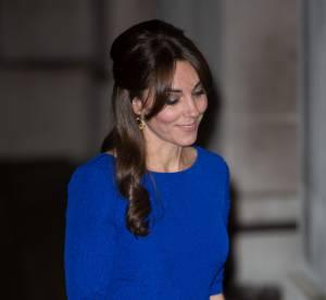 Kate Middleton : divine princesse en robe bleu roi, son clin d'oeil à l'Inde