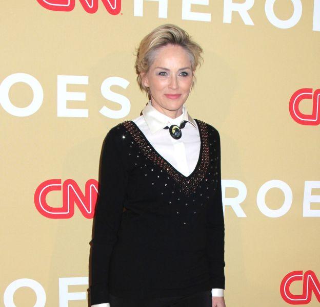 Sharon Stone lors de la soirée CNN Heroes: An All-Star Tribute à New York le 17 novembre 2015.