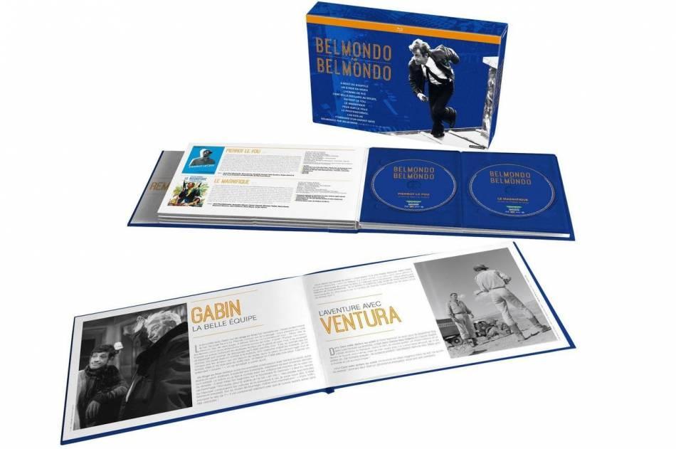 """Le coffret DVD Blu-ray """"Belmondo par Belmondo""""."""