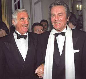 Jean-Paul Belmondo et Alain Delon, deux amis que les médias ont voulu opposé.