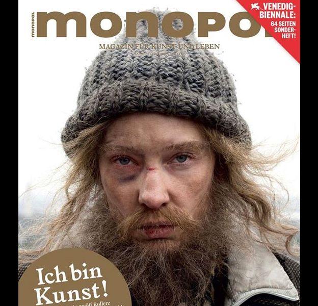"Cate Blanchett, transformée en SDF pour ""Manifesto"", de l'artiste allemand Julian Rosefeldt."