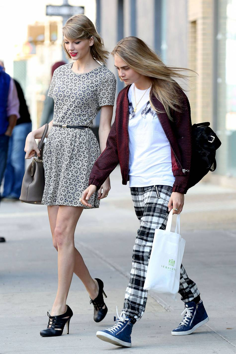 Taylor Swift a aussi invité son amie Cara Delevingne.