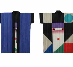 Issey Miyake : sa capsule colorée et graphique en hommage à Ikko Tanaka