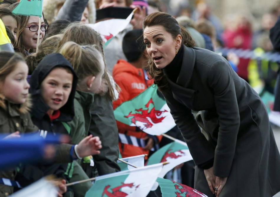 Kate Middleton a enchaîné le sorties officielles cette semaine.