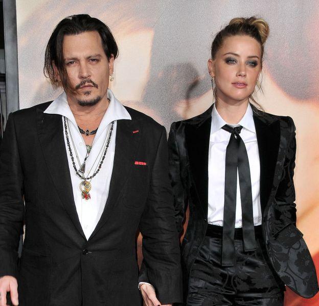 Amber Heard et Johnny Depp, plus amoureux que jamais à Los Angeles.