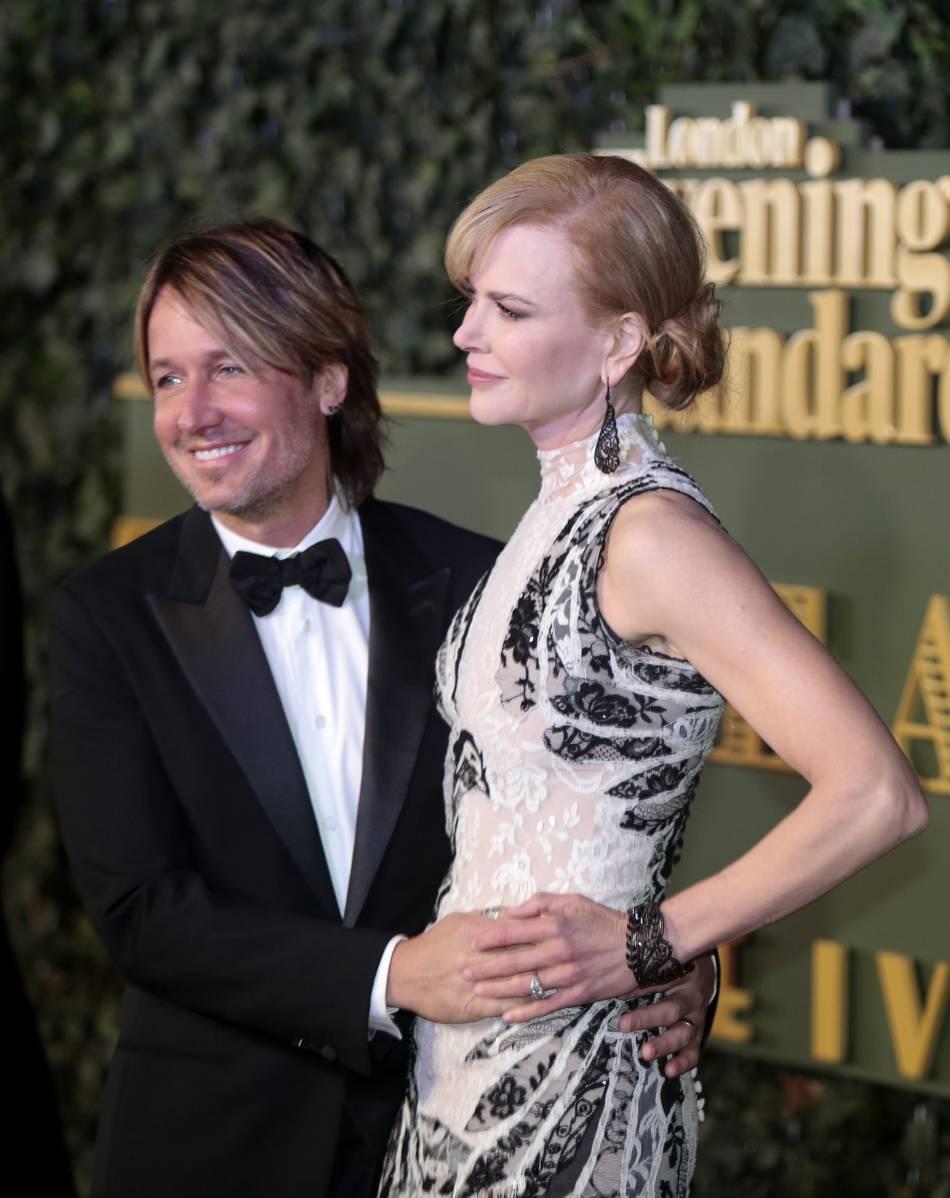 Sacrée meilleur actrice ce soir là, Nicole est venue accompagnée de son époux Keith Urban.