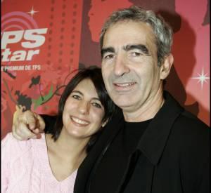 Estelle Denis et Raymond Domenech, un couple soudé même après la demande en mariage loupée de ce dernier.