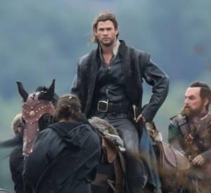 """Chris Hemsworth a depuis retrouvé la forme pour """"Le chasseur et la reine des glaces""""."""