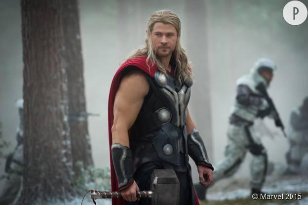 """Chris Hemsworth dans """"Thor : l'ère d'Ultron""""."""