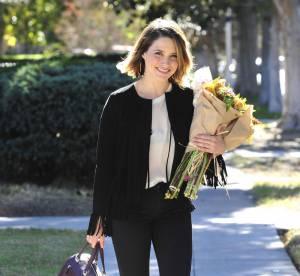 Sophia Bush : l'élégance casual en noir et beige... un look à copier !