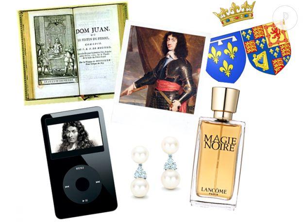 Dans le sac d'Henriette d'Angleterre.