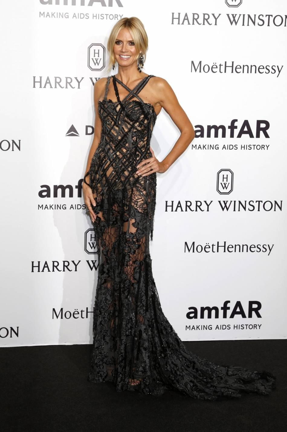 Heidi Klum ne jure que par des tenues sexy.
