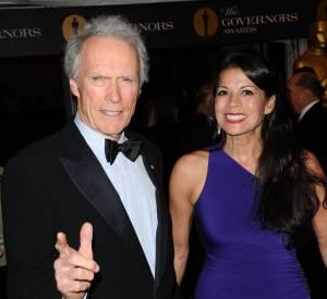 Clint Eastwood et Dina Ruiz en novembre 2010.
