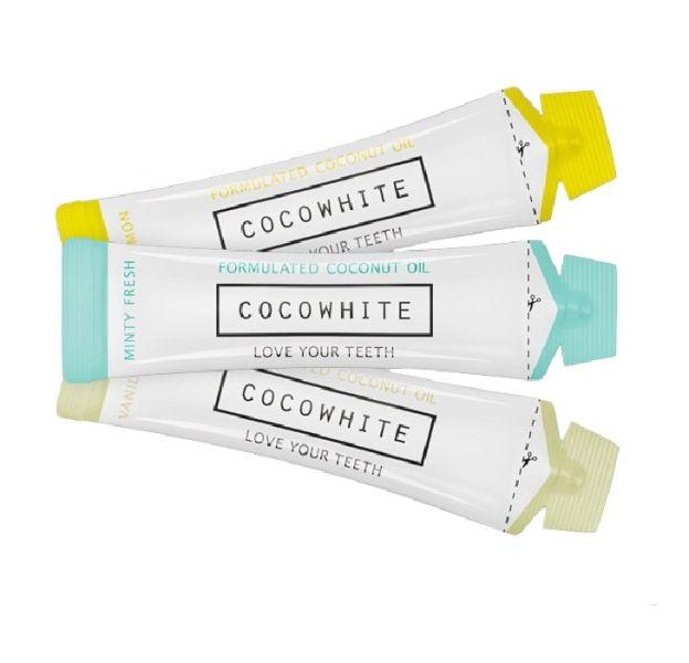Coco White : la marque de sticks à l'huile de coco pour avoir de belles dents blanches.