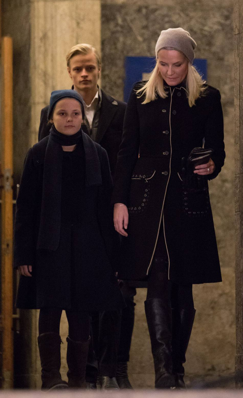 Marius est le fils de la princesse Mette-Marit de Norvège.