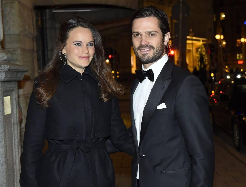 Le prince Carl Philip de Suède et la princesse Sofia, des futurs parents parfaitement coordonnés.