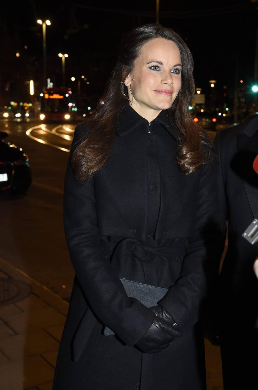 La princesse Sofia très élégante ce soir-là.