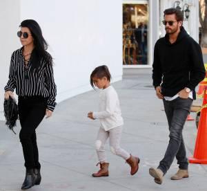 Kourtney Kardashian : sexy et lookée pour une sortie en famille avec Scott