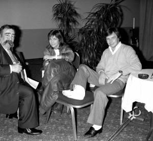 Véronique Jannot et Didier Pironi, décédé en 1987