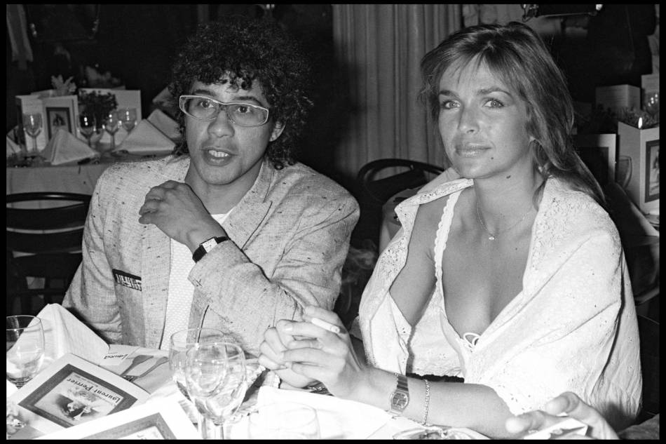 Véronique Jannot et Laurent Voulzy avec qui elle a partagé 10 ans de sa vie
