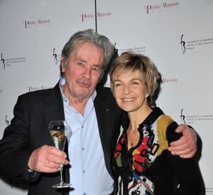 Véronique Jannot et Alain Delon, son fidèle ami