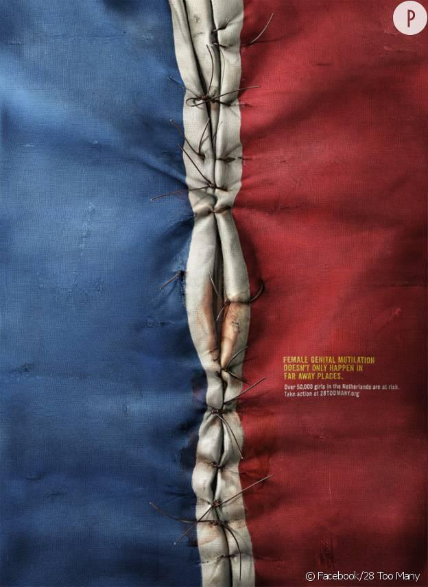 28 Too Many lutte contre l'excision et lance une nouvelle campagne.