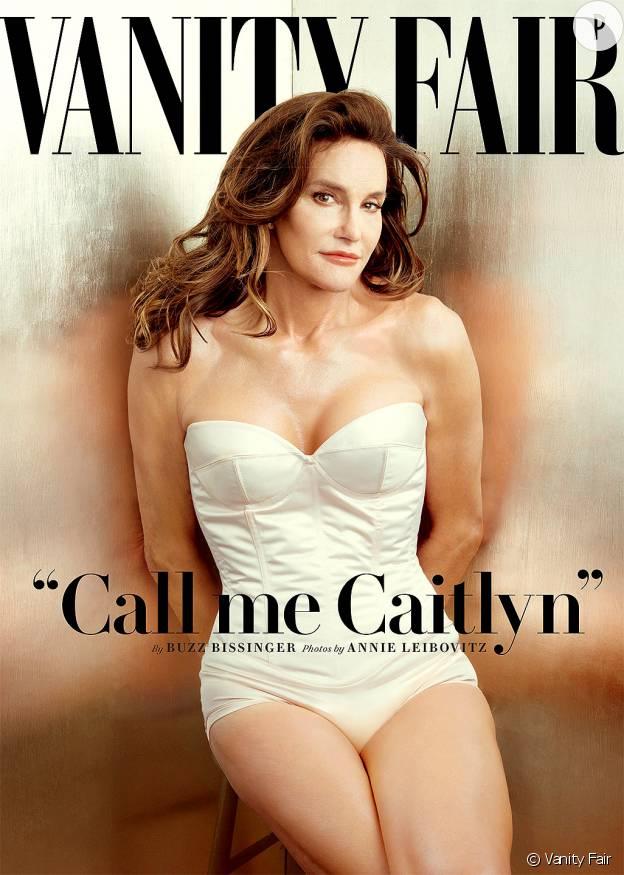 Caitlyn Jenner fait la couverture du Vanity Fair du mois de juillet.