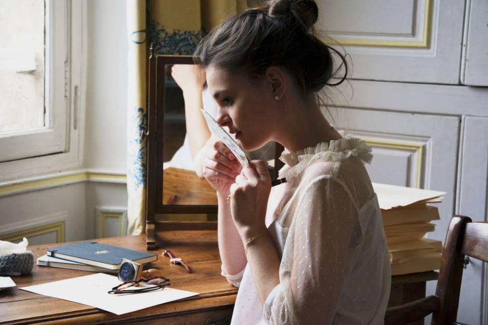 """La blouse """"Petit Lever"""" de 71 bis."""