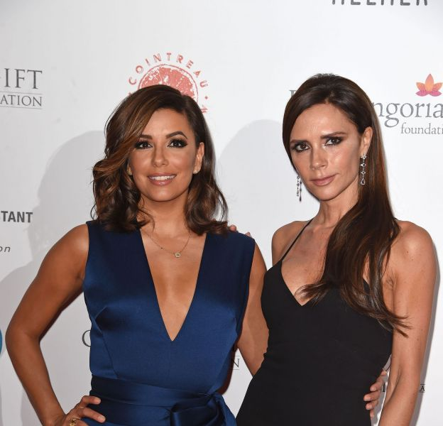Eva Longoria et Victoria Beckham, plus amies que jamais sur le red carpet du Global Gift Gala London.