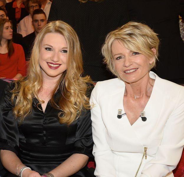 Sophie Davant et sa fille, Valentin Sled, en avril 2015.