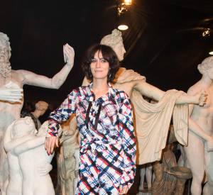 Clotilde Hesme au défilé Chanel Métiers d'Arts Paris à Rome 2015-2016 le 1er décembre 2015.