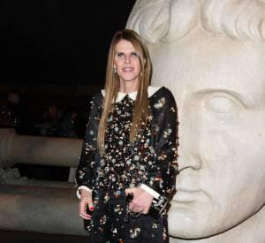 Anna Dello Russo au défilé Chanel Métiers d'Arts Paris à Rome 2015-2016 le 1er décembre 2015.