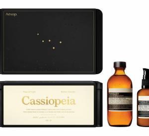 Le coffret Cassiopeia d'Aesop.