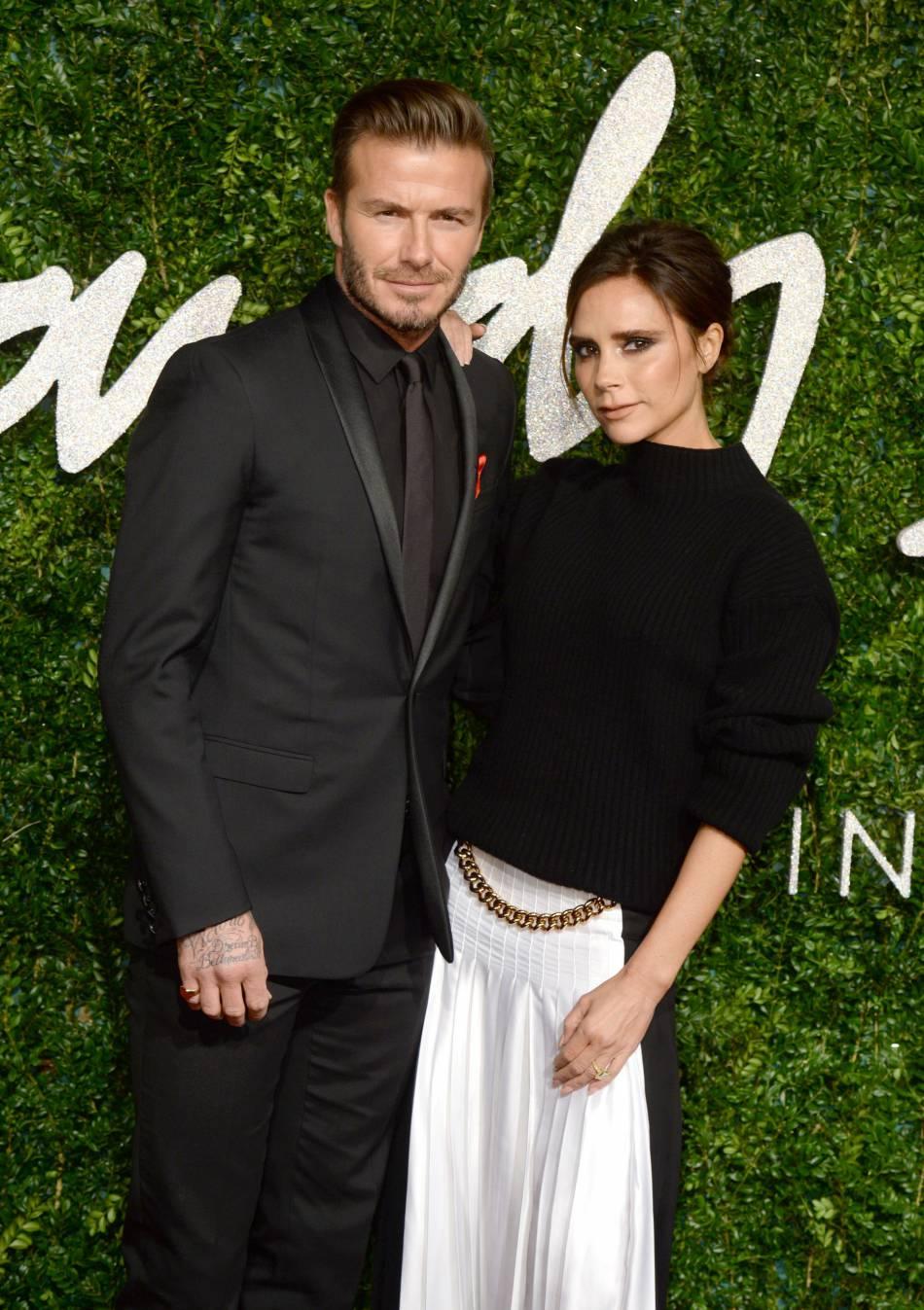 Victoria et David Beckham, des parents infiniment fiers de leur fille Harper.