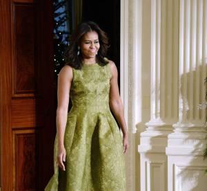 Michelle Obama : une mère Noël stylée en Michael Kors Collection