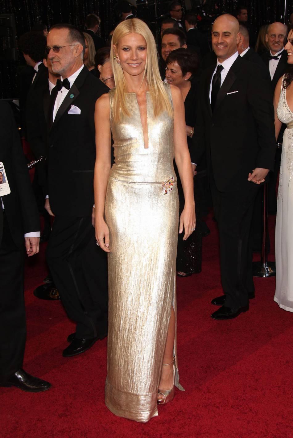 Gwyneth Paltrow, sublime en lamé aux Oscars 2011.