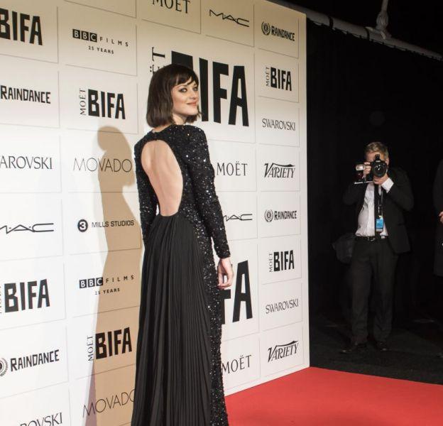 Marion Cotillard à la cérémonie The Moet British Independent Film Awards le 6 novembre 2015 à Londres.