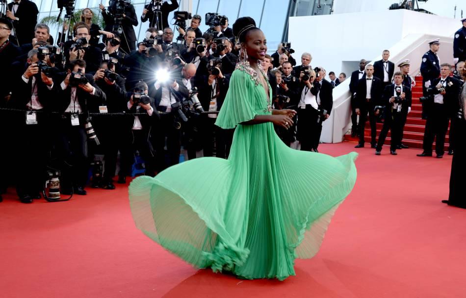 Lupita Nyong'o à Cannes c'est le sans-faute.