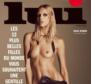 Anja Rubik pour le magazine LUI.